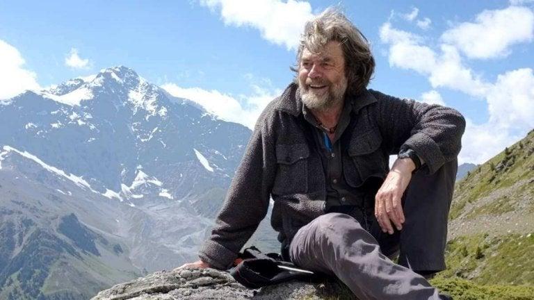 dağda Reinhold Messner