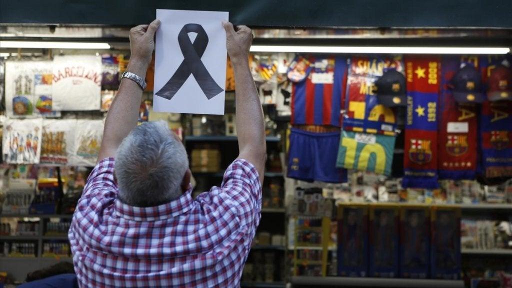 Barselona terörist saldırısı