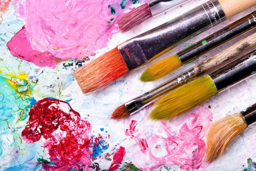 renkler ve fırçalar
