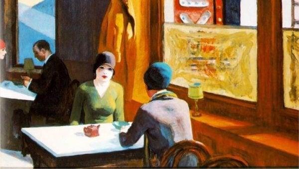 kafede oturanlar