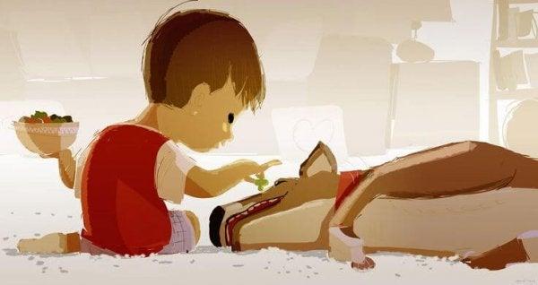Çocuklar ve Evcil Hayvanlar Arasındaki Bağ