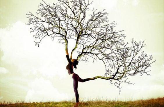 ağaç kadın