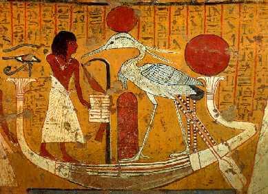 antik mısır duvar resmi