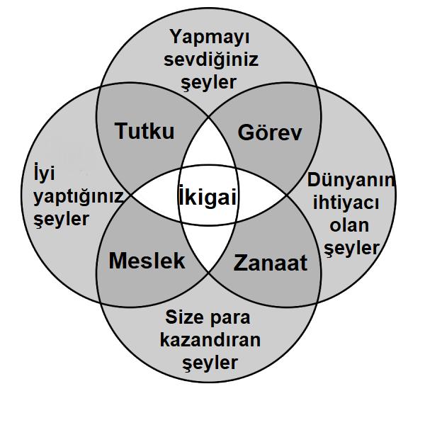 ikigai grafiği