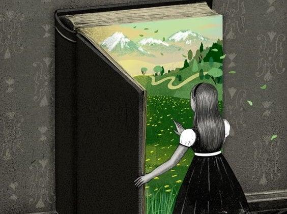 başka bir dünyaya açılan kitap