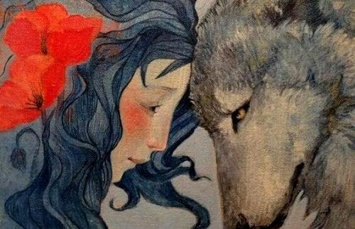 kız ve kurt
