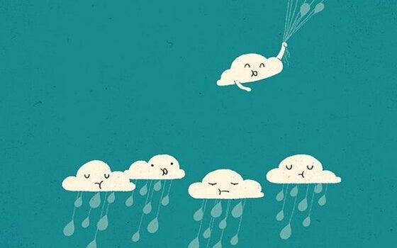 yağmur bulutları