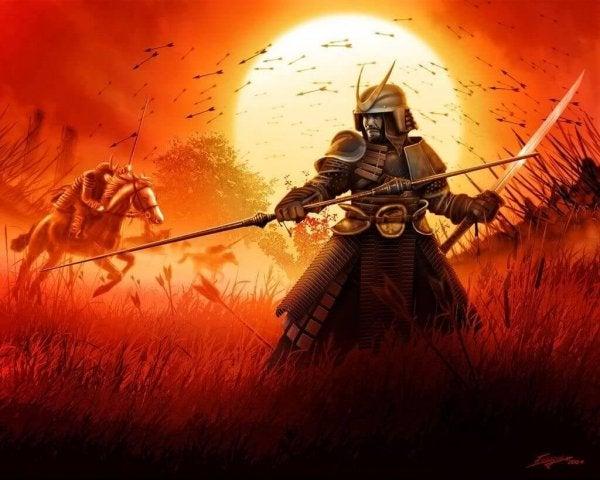 savaşta samuray