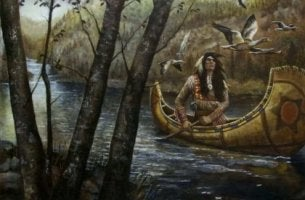 nehirde adam