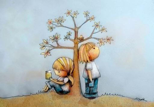 ağaç ve kız