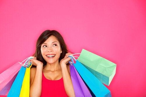 alışverişte mutluluk