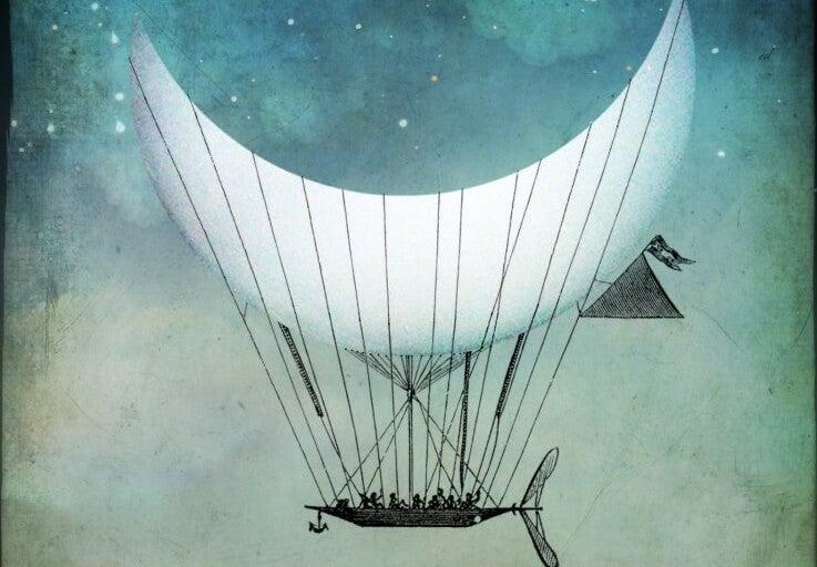 aydan balon yapıp uçmak