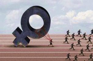 cinsiyetçilik yüzünden ilerleyemeyen kadın
