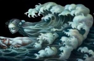 deniz-seklinde-kiz-huzun-dalga