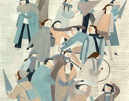 insan kalabalığı