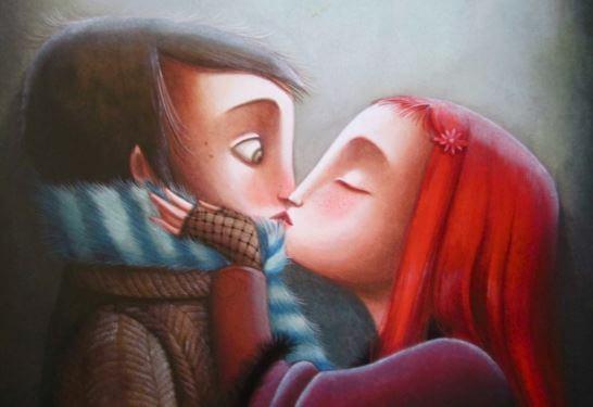 istenmeyen öpücük