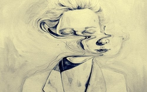 kadının suratı kaymış