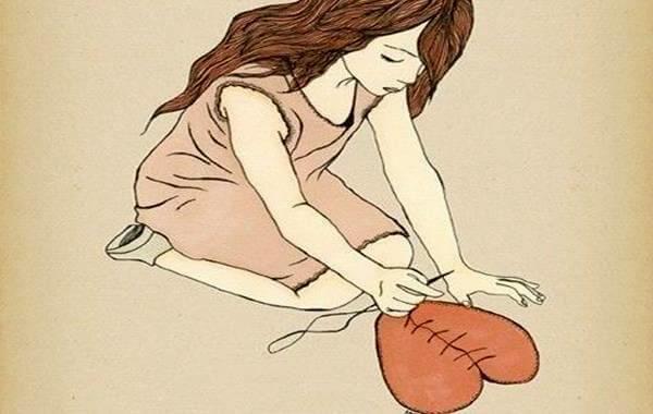 kalbini diken kız
