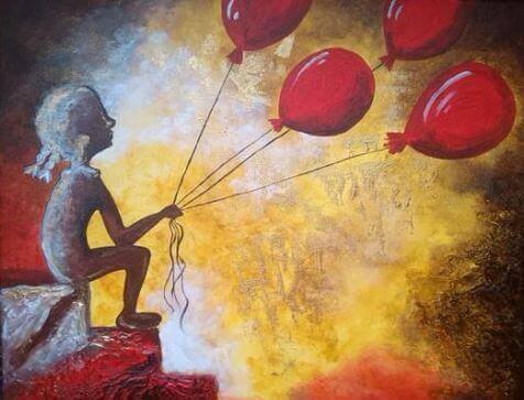 kırmızı balonlar
