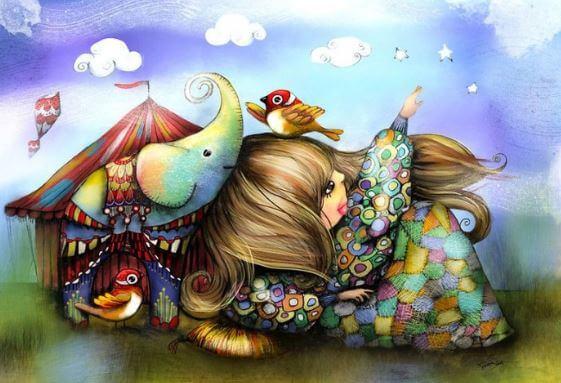 kız ve fil