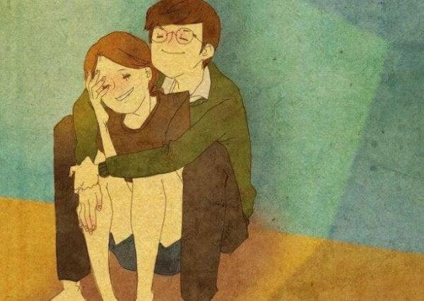 mutlu çift