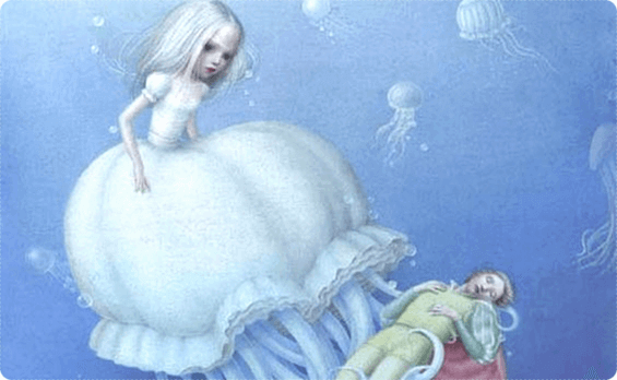 denizaltındaki prenses