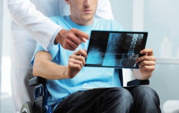 röntgenine bakan adam