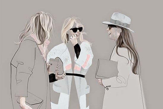 sohbet eden üç kadın