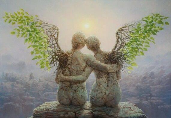 taş melekler