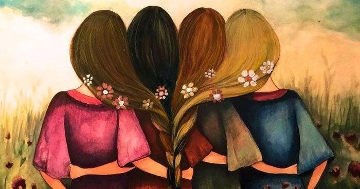 kadınlar omuz omuza kol kola