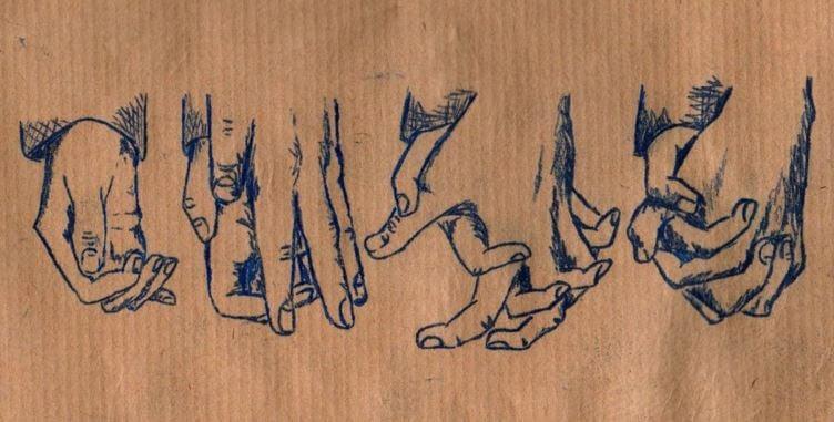 eller tutuşuyor