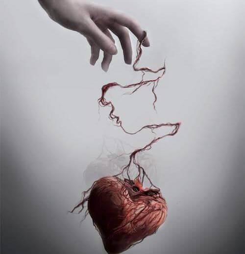kalp, el ve iplik