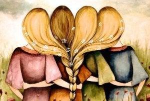 dört kız kardeş