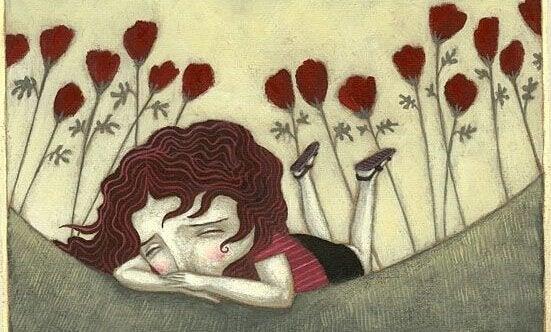 kız üzülmüş ağlıyor