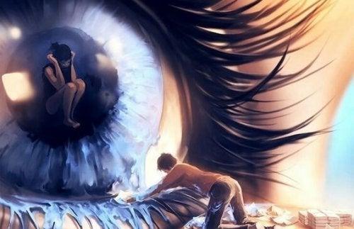 gözdeki kız
