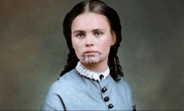 Mavi Dövmeli İki Kez Esir Düşmüş Kadın: Olive Oatman