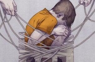 şiddet içinde bir çocuk