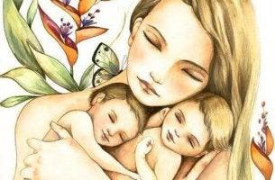 anne ve çocukları