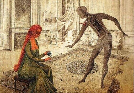 kadın ve gölgesi
