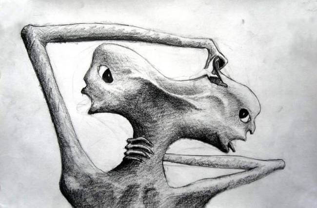 iki kafalı insan