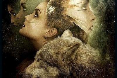 kadın ve kurt