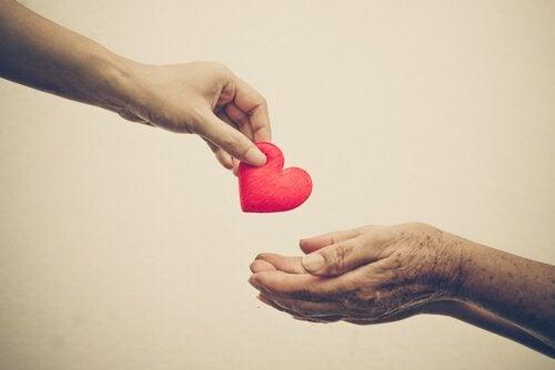 kalp vermek