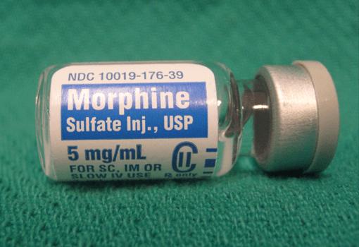 morfin tüpü