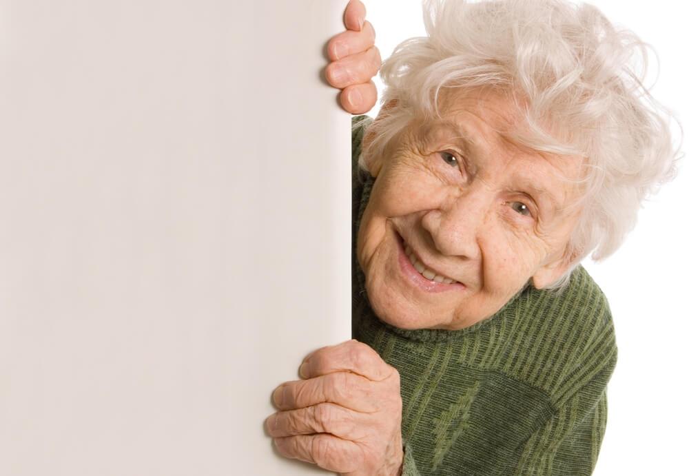 muzur yaşlı kadın