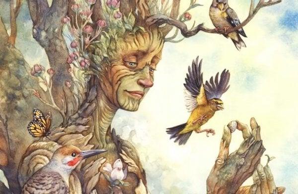 Ağaçların Mutluluğu Bulmak İle İlgili Bize Öğretebileceği Şeyler