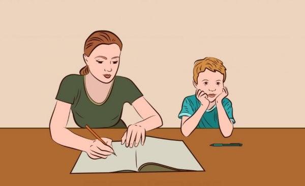 Çocuğunuzun Ödevlerine Yardım Etmenin 5 İyi Yolu