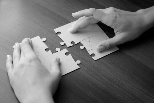 bulmaca parçalarını birleştirmek