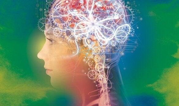 çarklarla dolu beyin