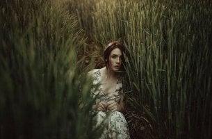 ormanda kadın