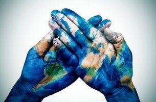 eller birleşip dünya oluşmuş